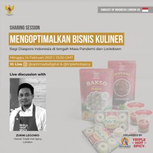 Optimisation Culinary Business