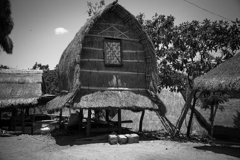 Sasak House in Lombok, West Nusa Tenggara, Indonesia