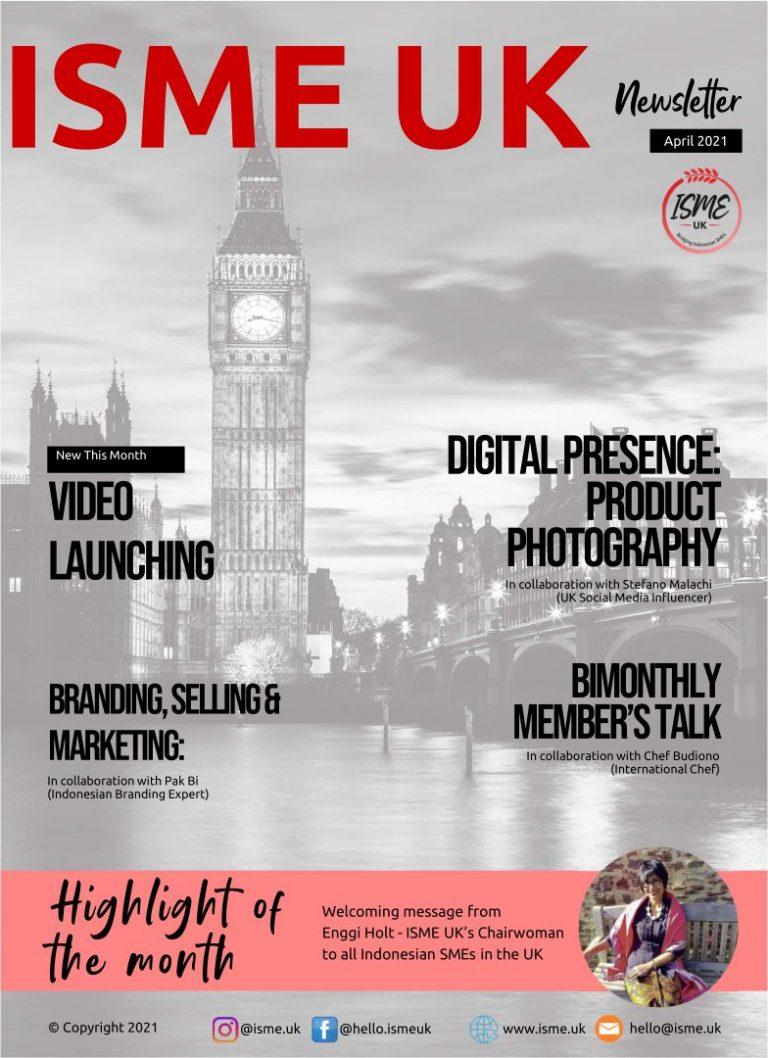 ISME UK Newsletter April