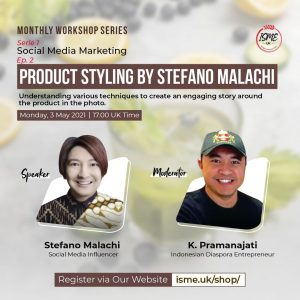 Stefano Malachi Social Media Workhshop Product Styling
